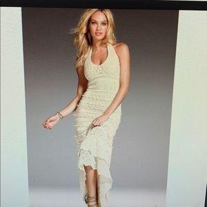 Victoria 's Secret crochet maxi dress NWOT